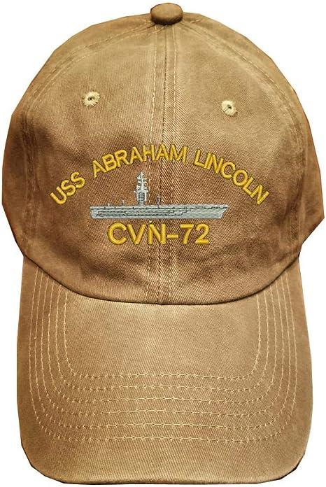 CVN-70 USS Carl Vinson Unisex Skull Cap Knit Hat Set Head Cap