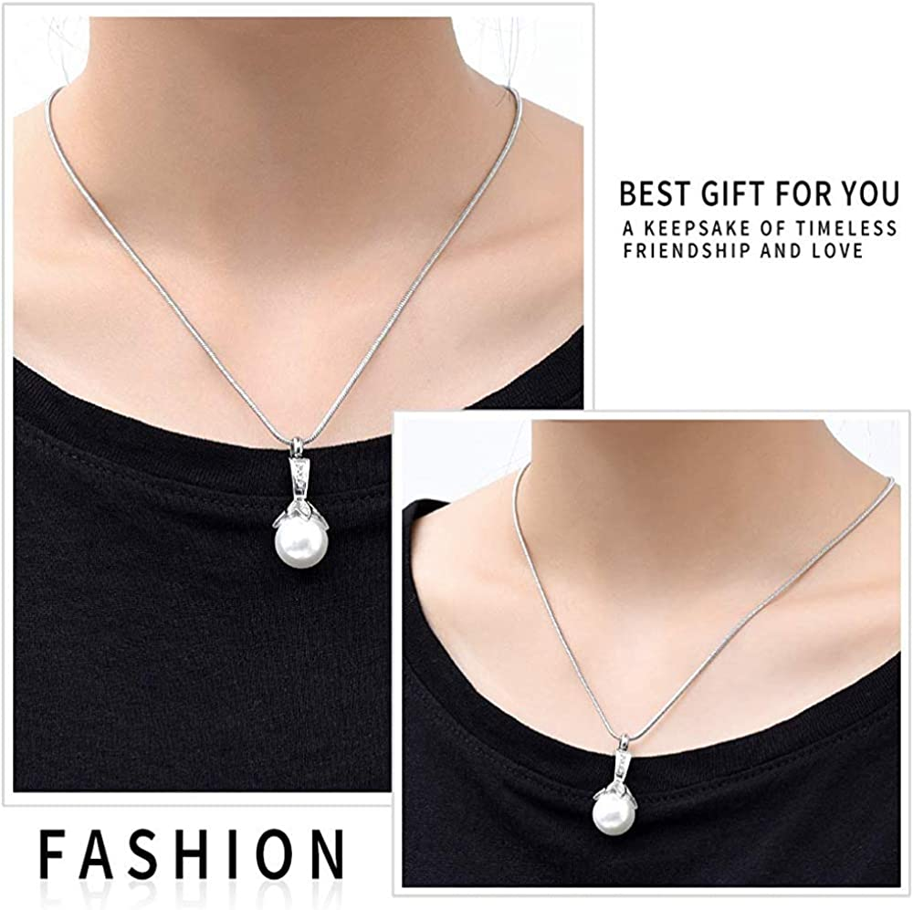 HAMANY Birthstone Personalized Real Pearl Cremation Urn Pendant Ashes Necklace Funeral Keepsake