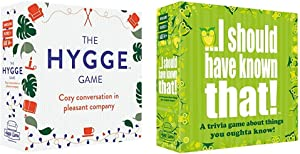 The Hygge Game - Cozy Conversation in Pleasant Company & ...I Should Have Known That! Trivia Game