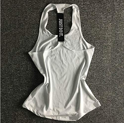 SGYHPL Frauen Yoga Top Gym Sport Weste Ärmellose Shirts Tanktops Sport Top Fitness Frauen Laufbekleidung Unterhemden Xs Weiß