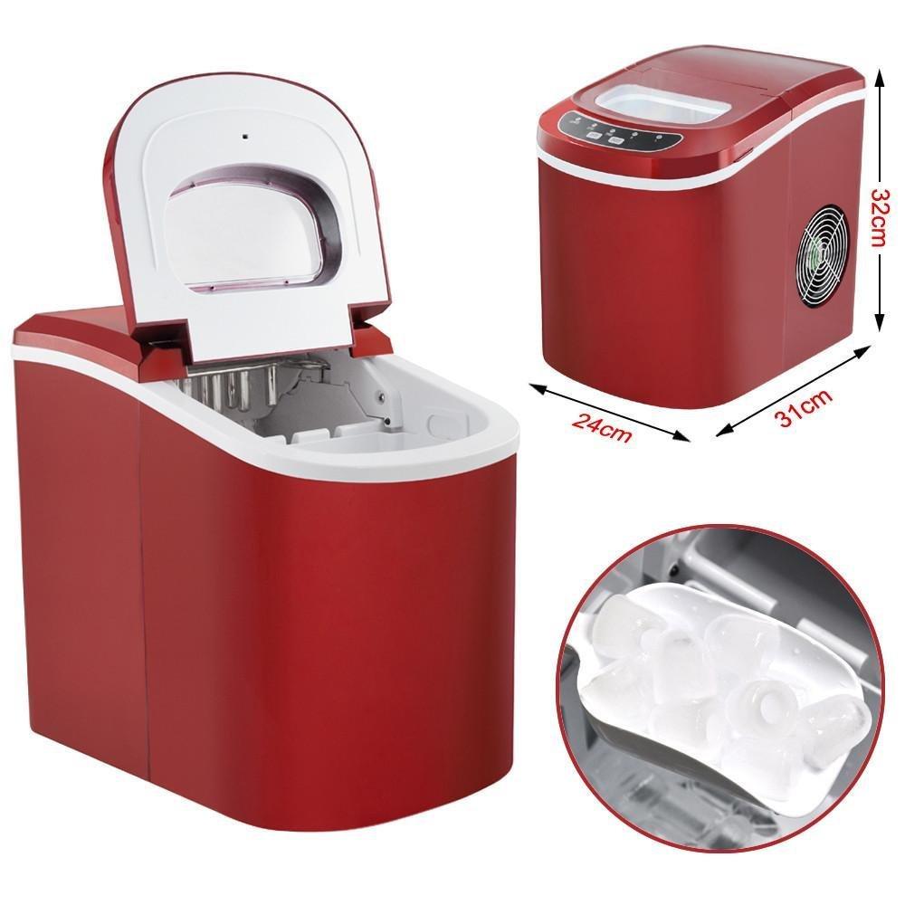 Amazon.de: Yahee Eiswürfelmaschine Eiswürfelbereiter Icemaker 12 kg ...