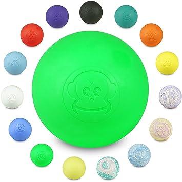 Captain LAX Bola de masaje original, en varios colores, de goma ...