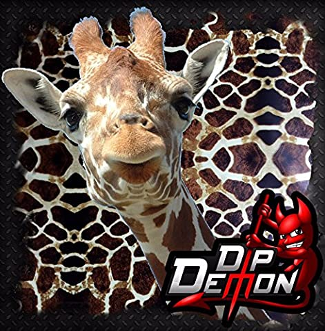 GIRAFFE HYYDROGRAPHIC WATER TRANSFER FILM HYDRO DIPPING DIP DEMON WIZARD APE - Demon Carbon Fiber