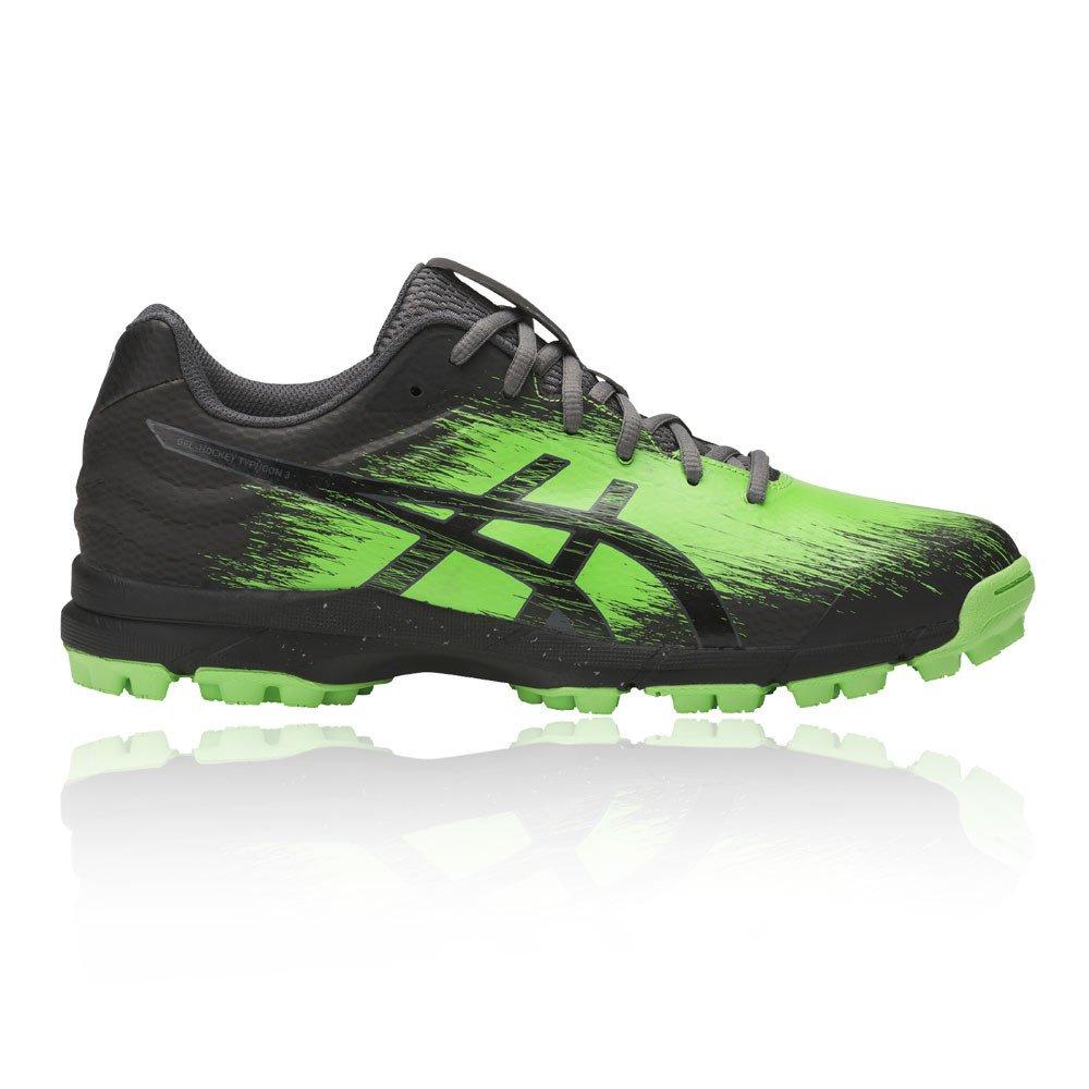 ASICS New Gel-Hockey Typhoon 3 Chaussures Hommes Chaussures de Sport Noir