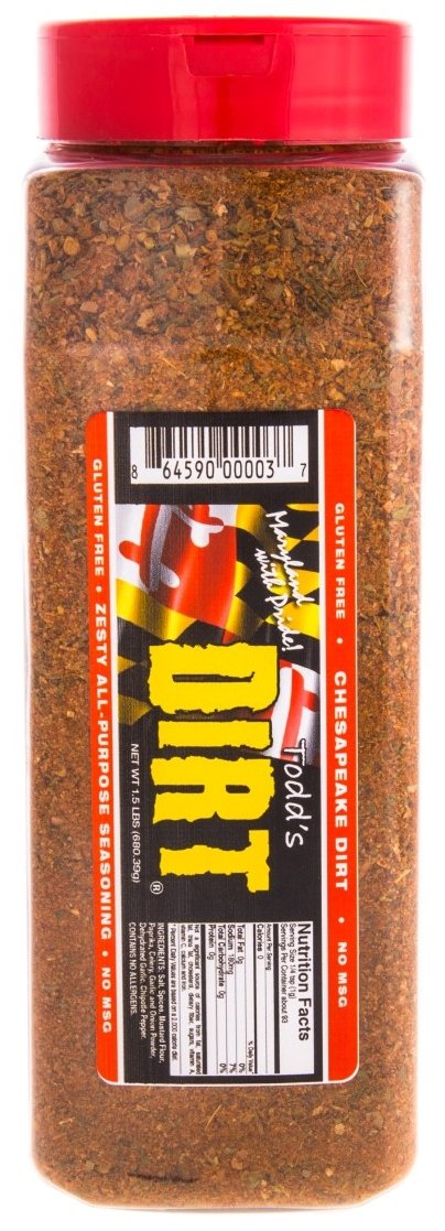 Chesapeake DIRT 1.5 Pound Mack Daddy Bottle by Todds Dirt