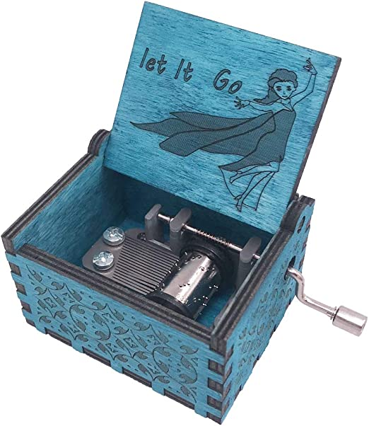 Youtang Frozen - Caja de música (18 Notas, manivela de Mano ...
