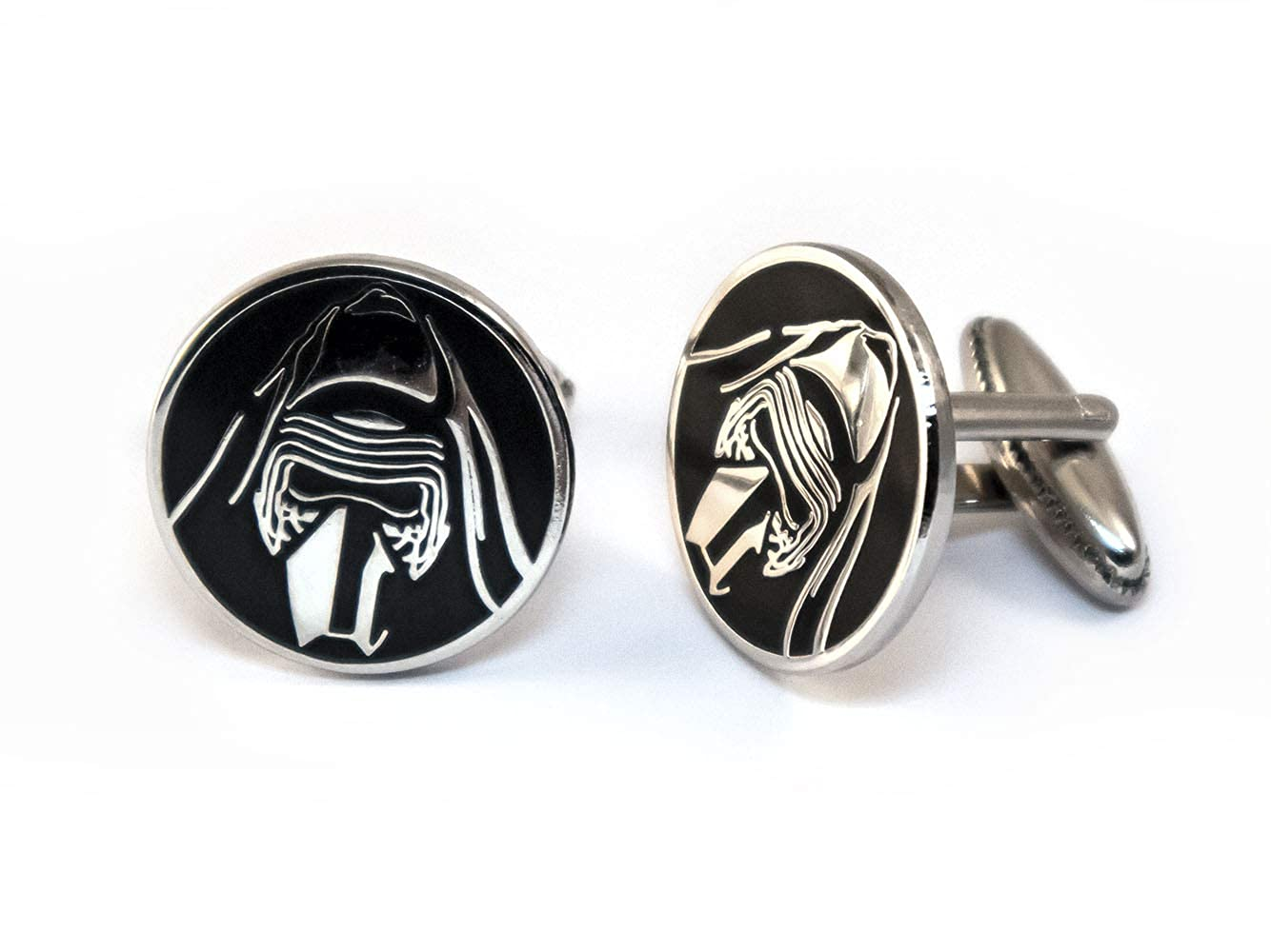 Darth Vader Cuff Links Jedi Tie Tack Jewelry SharedImagination Kylo Ren Cufflinks Star Wars Wedding Party Groomsman Gifts Star Wars Tie Clip Stormtrooper Death Star Gift