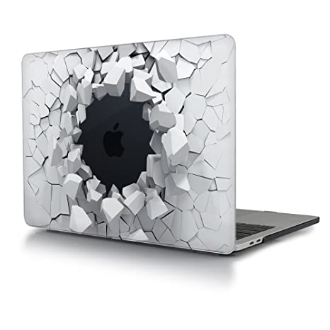 Carcasa MacBook Pro Retina 15, TwoL Ultra Slim Plástico Funda Dura Carcasa para MacBook Pro 15 Retina A1398 Case Cover (Piedra Creativa)