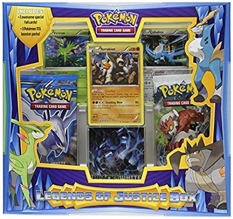 Juego de cartas coleccionables de Pokemon: Leyendas de Box ...