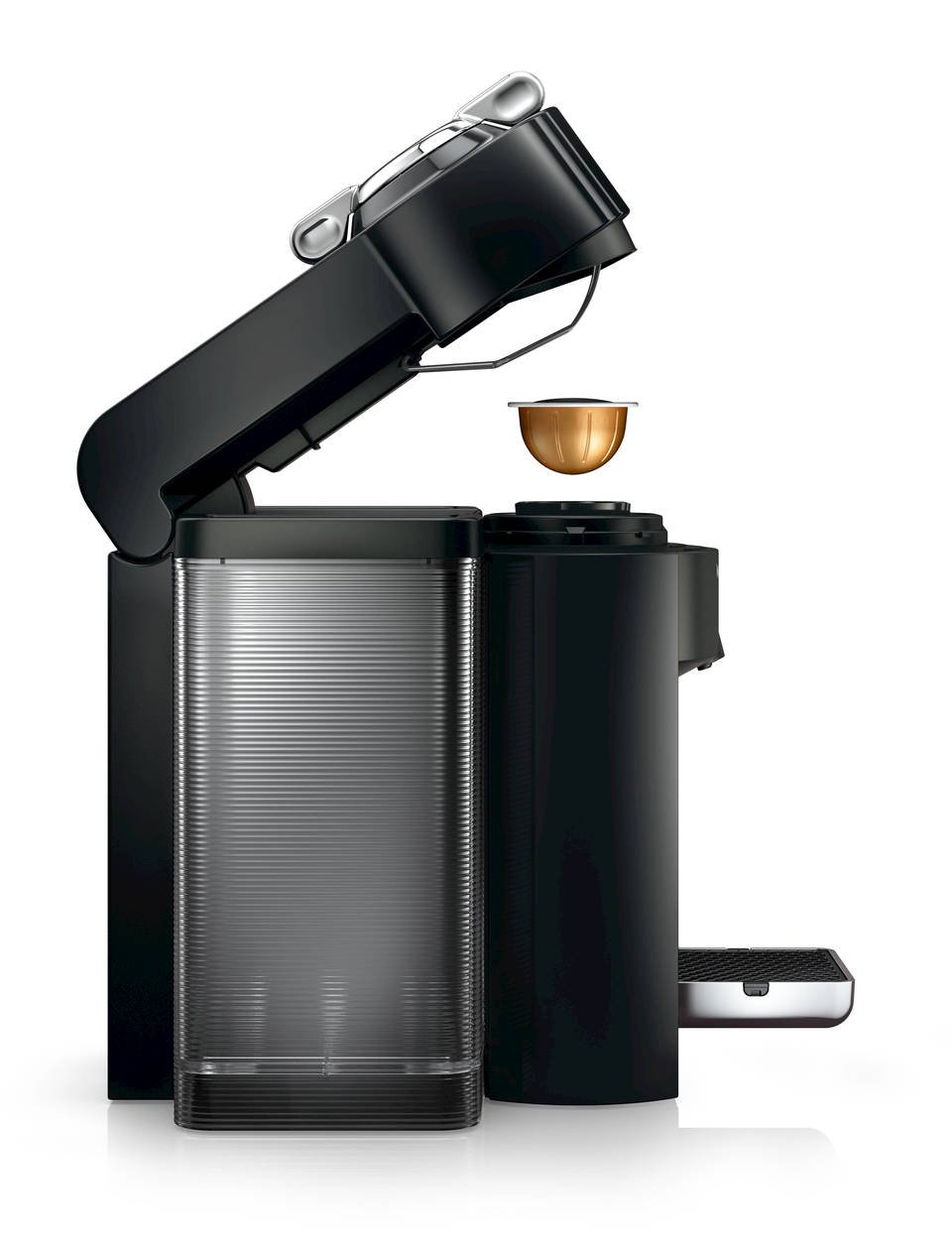 Nespresso A+GCC1-US-BK-NE VertuoLine Evoluo Deluxe Coffee & Espresso Maker with Aeroccino Plus Milk Frother, Black (Discontinued Model) by Nespresso (Image #6)