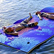 """Floating Water Mat,Tapis Flottant, Floating Water Pad,3 Layer Tear-Resistant XPE Foam,71""""x 22""""Large"""