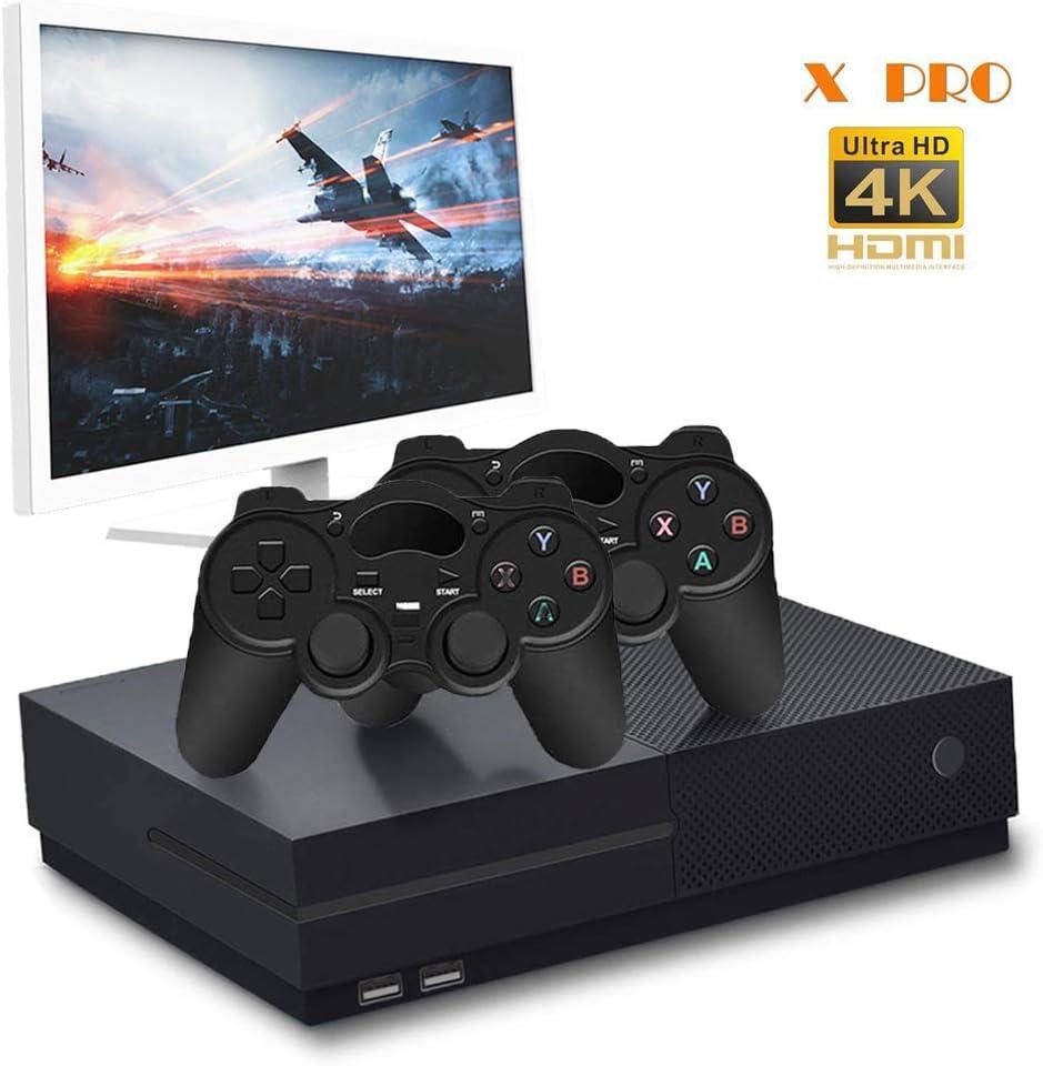 CXYP Consola de Videojuegos Retro, 4K HDMI Video Incorporado 800 Juegos clásicos con 2PCS Joysticks
