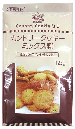 Mi cocina del pa?s harina de mezcla de la galleta bolsas 125gX6