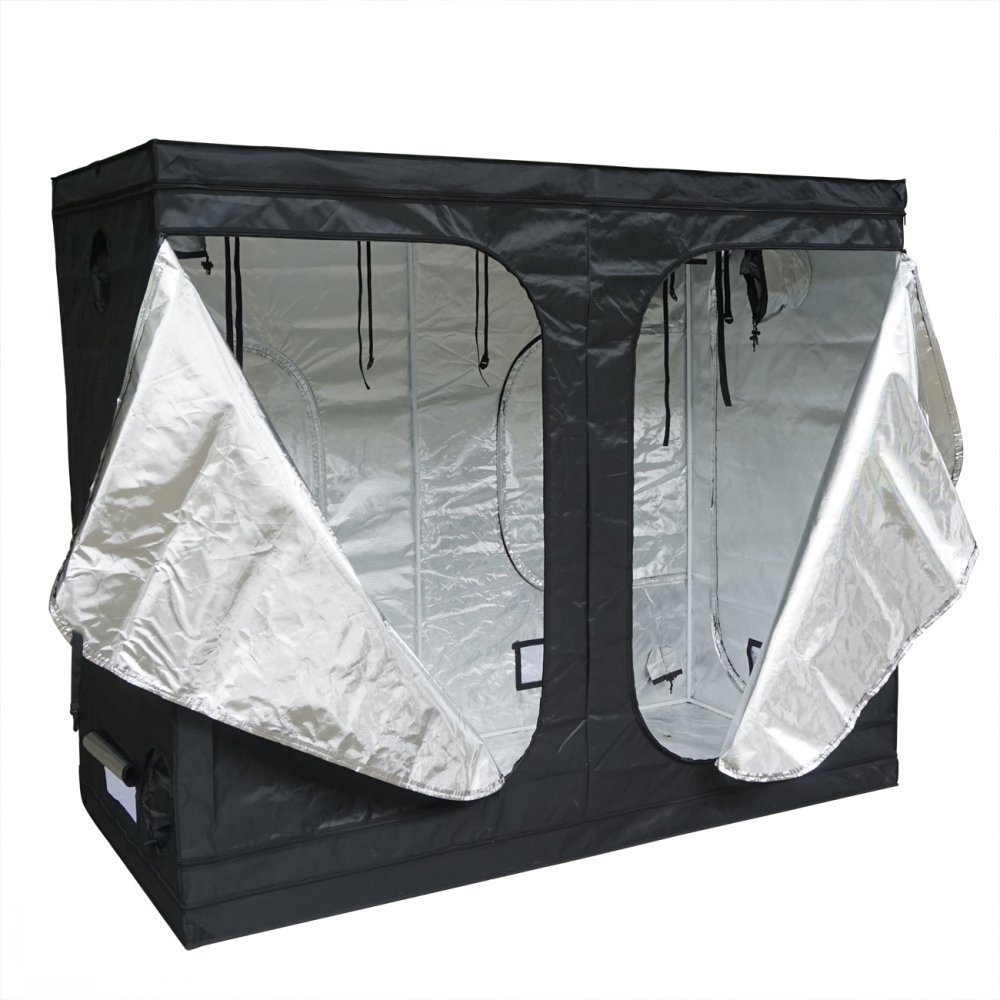 DCHOUSE Mylar Hydroponics Grow Tent New for Indoor Plant Growing (96  X 48  X 80 )