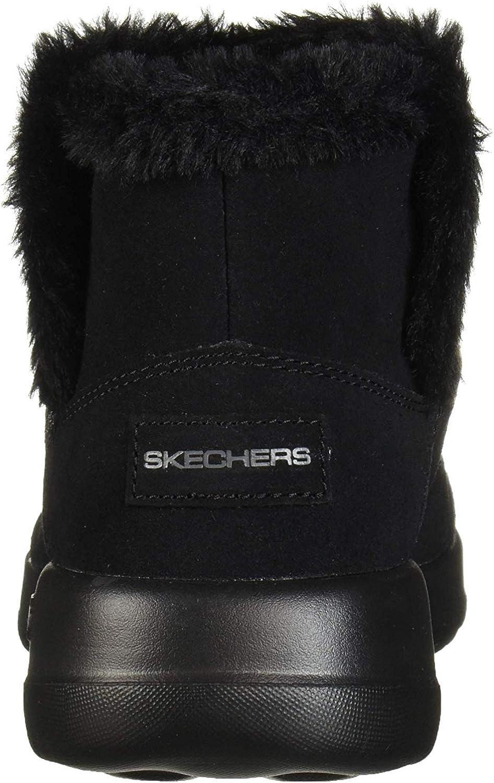 Skechers On-The-go Joy-Bundle Up, Botines para Mujer Negro kKiFiRHe