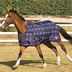 Saxon 1200D Turnout Sheet 78 Blackberry Plaid