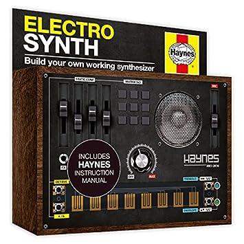 Haynes electro synth kit amazon toys games haynes electro synth kit solutioingenieria Image collections