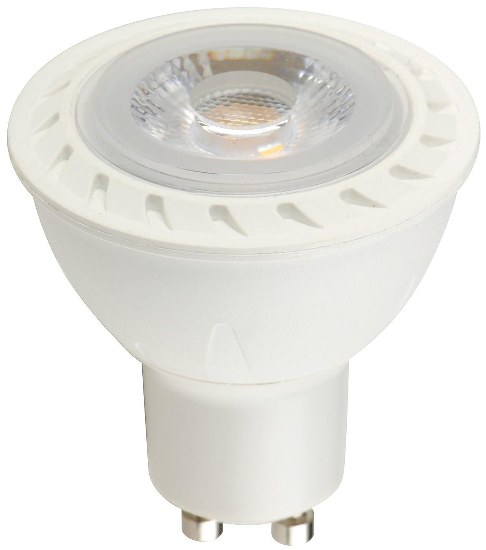 AC Pack GU10 50 LED cálido of 230V 10 Blanco 7W Hz BTEK® VSMqzUp