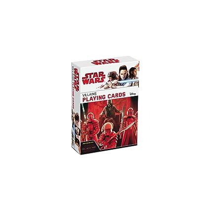 ASS Star Wars: El último Jedi Villanos Juego de Cartas Juego ...