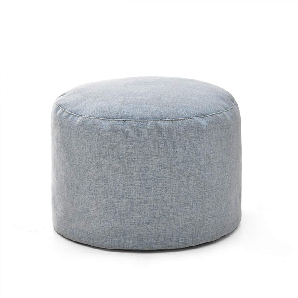 Light bluee ZHAOYONGLI Stools Footstool Step Stools Work Stool Cloth Living Room Bedroom Washable Multicolor Selection 30  30  22cm Creative Solid Durable Long Lasting (color   Beige)
