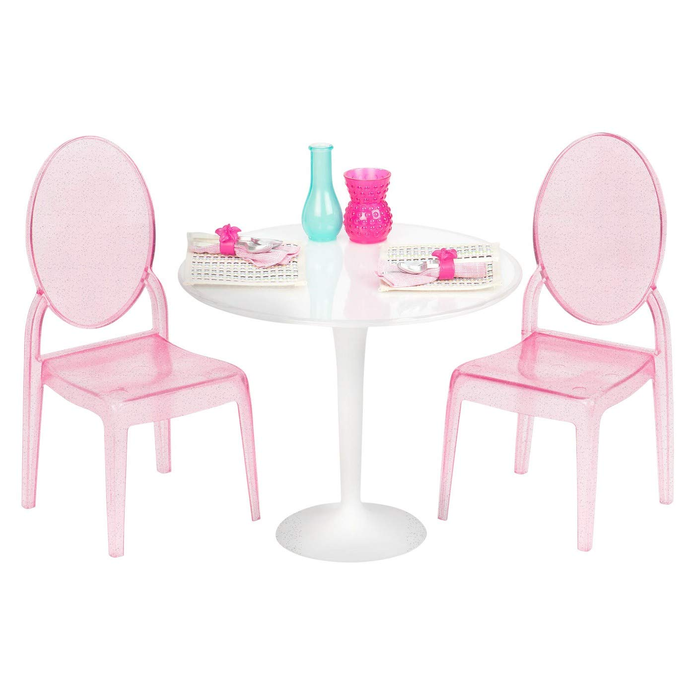Our Generation Table & Chairs Home Girls in/Outdoor Play Garden Accessory Set