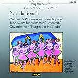 Hindemith: Quintett fur Klarinette und Streichquartett / Repertorium fur Militarmusik