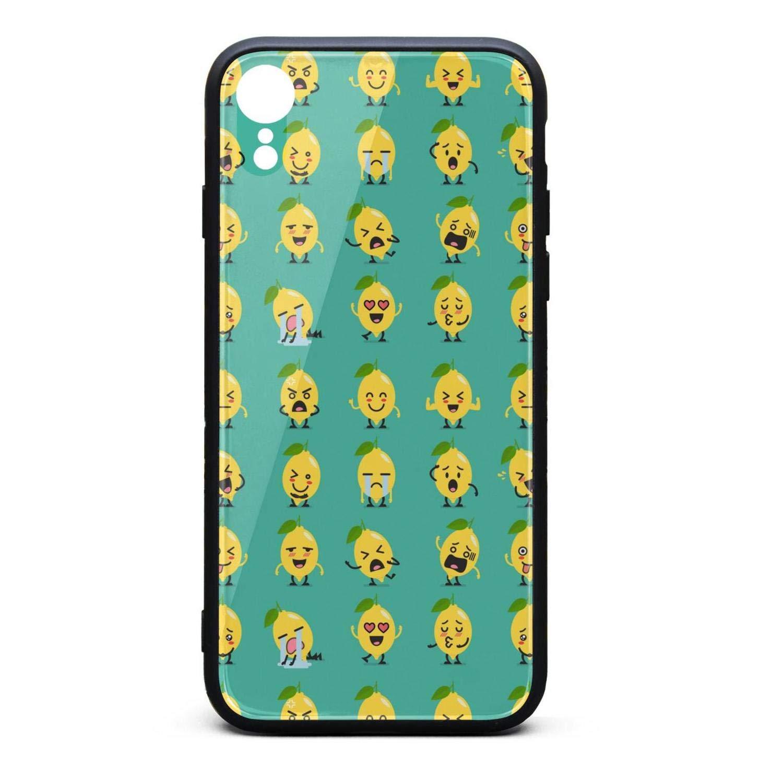 Amazon.com: Hiunisyue iPhone XR Case Lemon Character Emoji ...