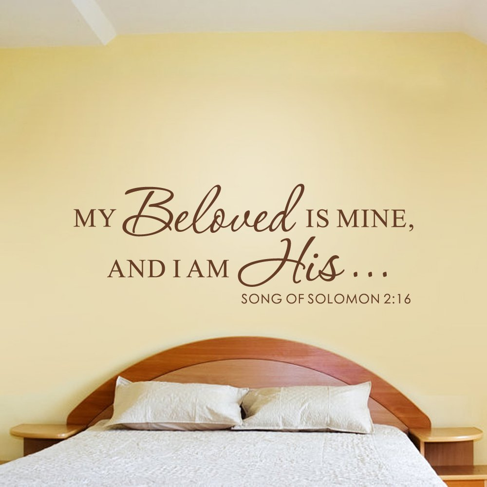 My Beloved Is Mine And I Am His (Song Of Solomon 2:16) - Scripture ...
