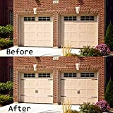 WINSOON Decorative Garage Door Hardware Kit