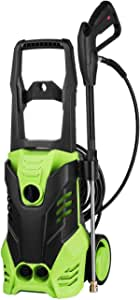 2500PSI Electric High Pressure Washer, Compact XH01 Power Washer with 5 Quick-Connect Spray Tips and Rolling Wheels