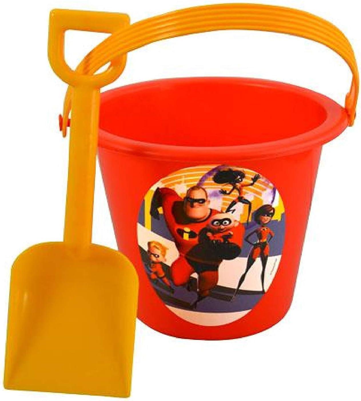 UPD Disney Incredibles 2 Sand Bucket /& Shovel