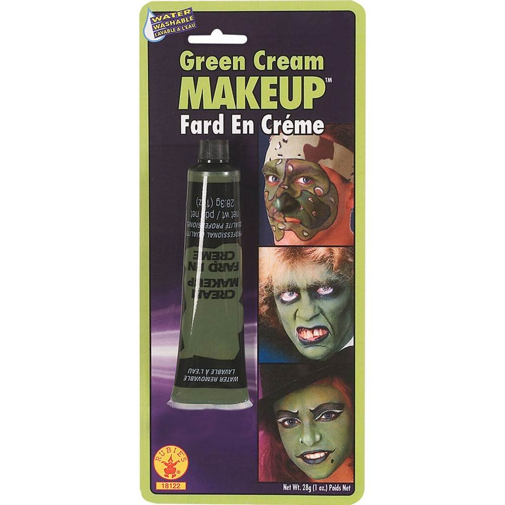 Rubies Green Cream Makeup, 1.0 Ounce