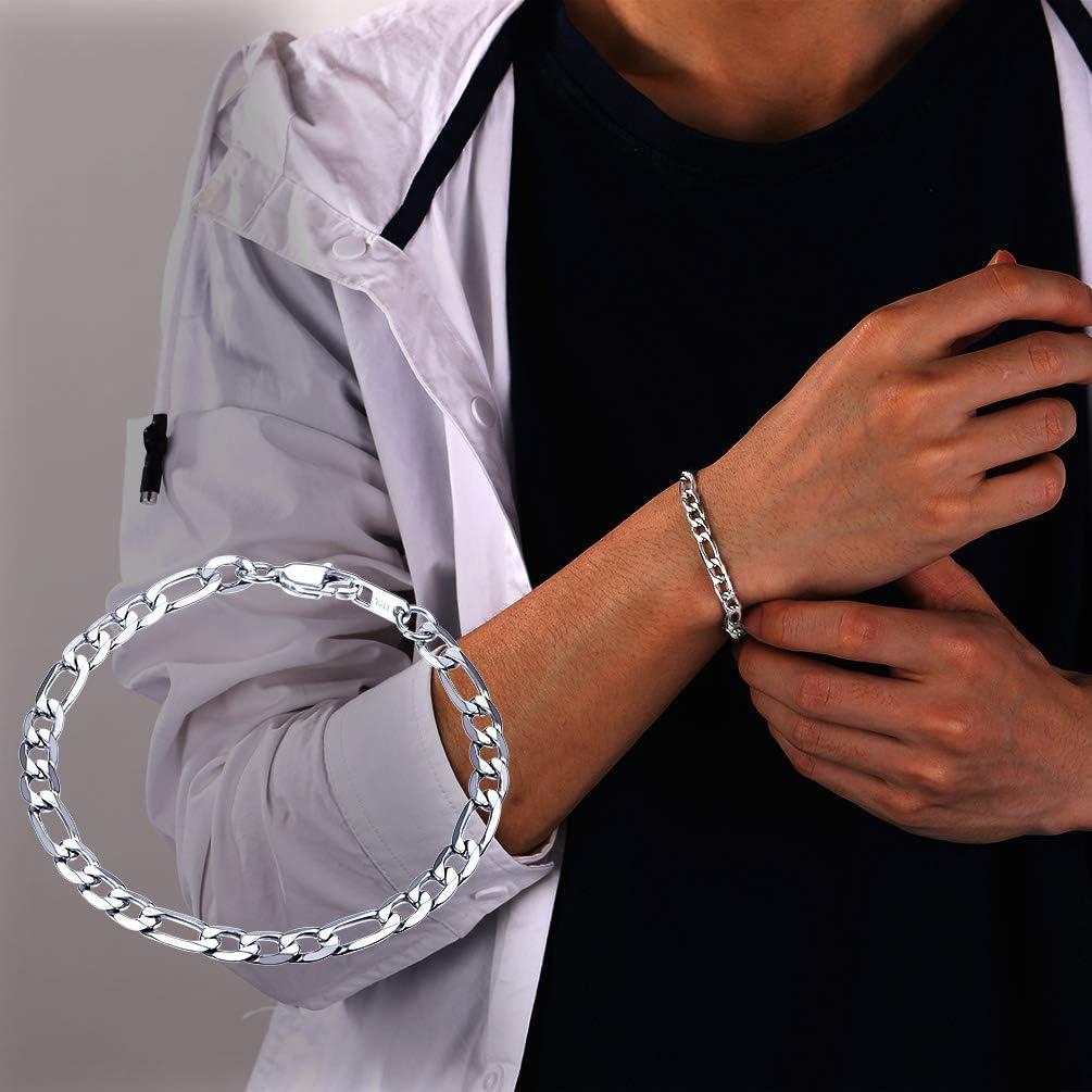 PROSTEEL Bracelet Boule Homme avec Charms Halt/ère Gourmette R/églable Bijoux Sportif en Acier Inoxydable//Plaqu/é Or//M/étal Noir Cadeau Parfait