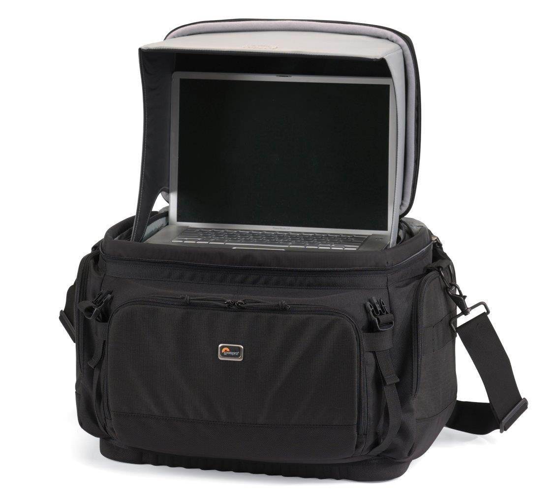 Lowepro Magnum 650 AW - Bolsa con compartimientos para cámaras, Negro