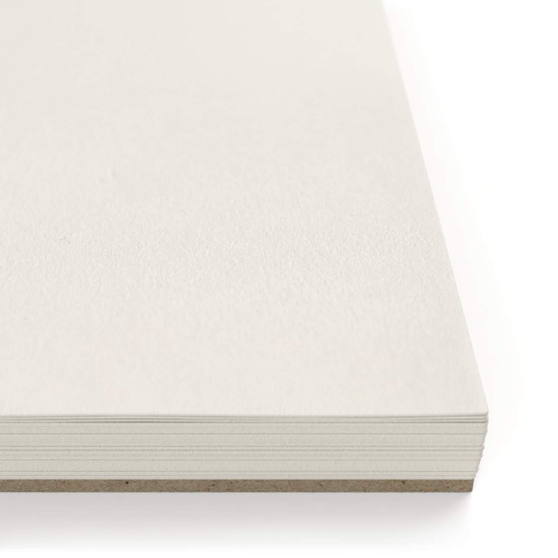 Wei/ßes Zeichenpapier Malblock mit Spiralbindung 148x210 mm 50 Bl/ätter 2er-Set Arteza Zeichenblock DIN A5