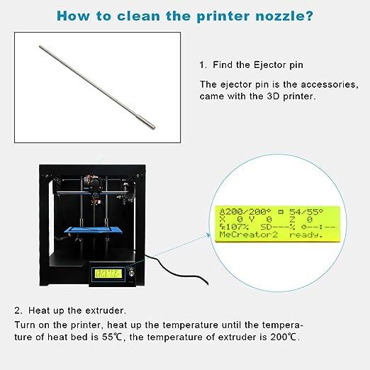 GIANTARM Impresora 3D Mecreator 2 Impresora 3D de escritorio ...