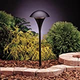 Kichler 15336BKT Eclipse Path & Spread 1-Light 12V, Textured Black For Sale