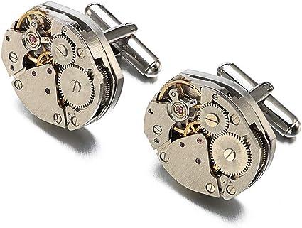 Yangxuelian-AC Gemelos Mecánico Reloj Movimiento Esmoquin ...