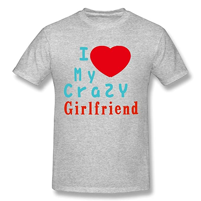 Amazoncom Joanne Samson I Love My Crazy Girlfriend Short Sleeve