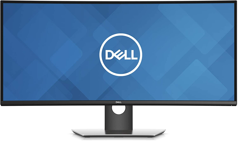 Dell U3419W Ultrasharp 34-Inch WQHD (3440x1440) Curved IPS USB-C Monitor, Black (Renewed)