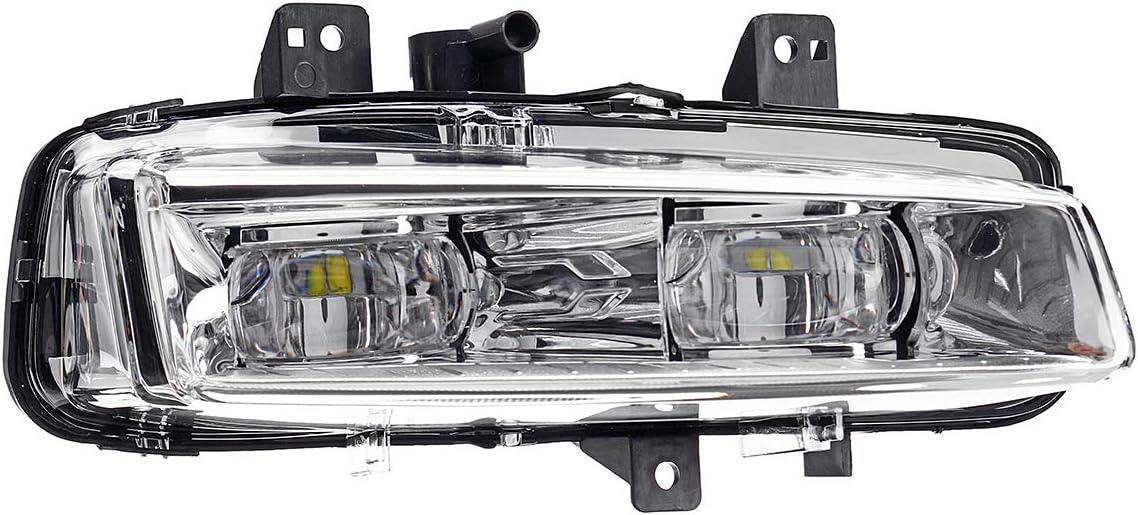 Color : Right WCHAOEN Car Left//Right Front Bumper Fog Lights Lamp for Range Rover Evoque Dynamic 2011-2016 New car light