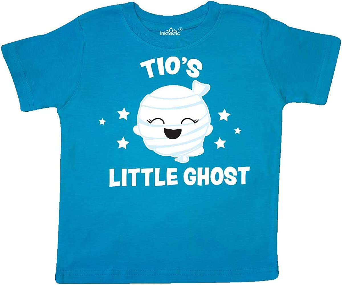 inktastic Cute Tios Little Ghost with Stars Toddler T-Shirt