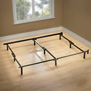 Sleep Revolution Compack Bed Frame with 9-Leg Support System - Full