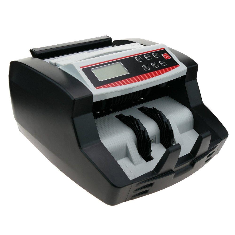 Contador de billetes y detector de billetes de euro con sistema UV