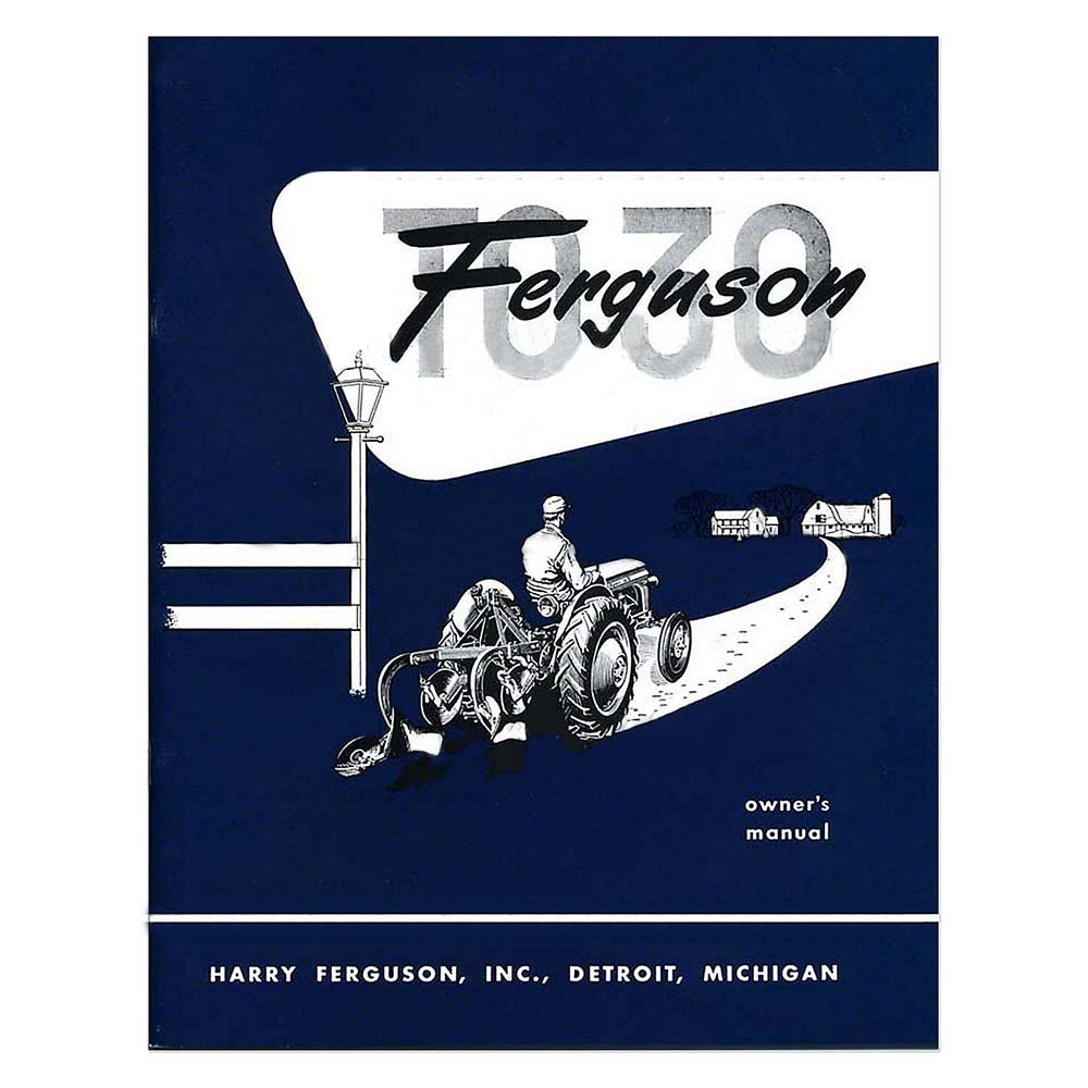 Amazon.com: REP091 New Massey Ferguson Tractor Owners Manual TO30 W/Electrical  Diagram: Industrial & Scientific