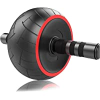 ACEmedia Ab Wheel Roller Pro Fitness Equipment Ab Workout Machine Abdominal Wheel Exercise Equipment Home Gym Core…