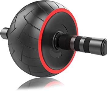 ACEmedia Ab Wheel Roller Pro Fitness Equipment Ab Workout Machine Abdominal Wheel Exercise Equipment Home Gym Core Training with Knee Pad