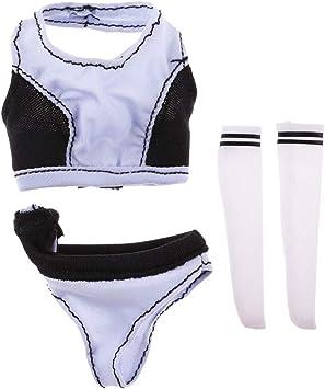 "1//6 Scale Female Underwear for 12/"" Kumik Enterbay CY CG Girls Clothing"