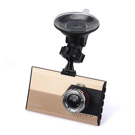 Cebbay Camara de Coche Sensor de visión Nocturna HD 1080P G Cámara DVR grabadora de Coche