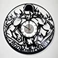 Decor Vinyl Record Wall Clock BODYBUILDING - Exciting room decor - perfect gift idea for children, adults, men and women - Fitness Motivation Unique Art Design!
